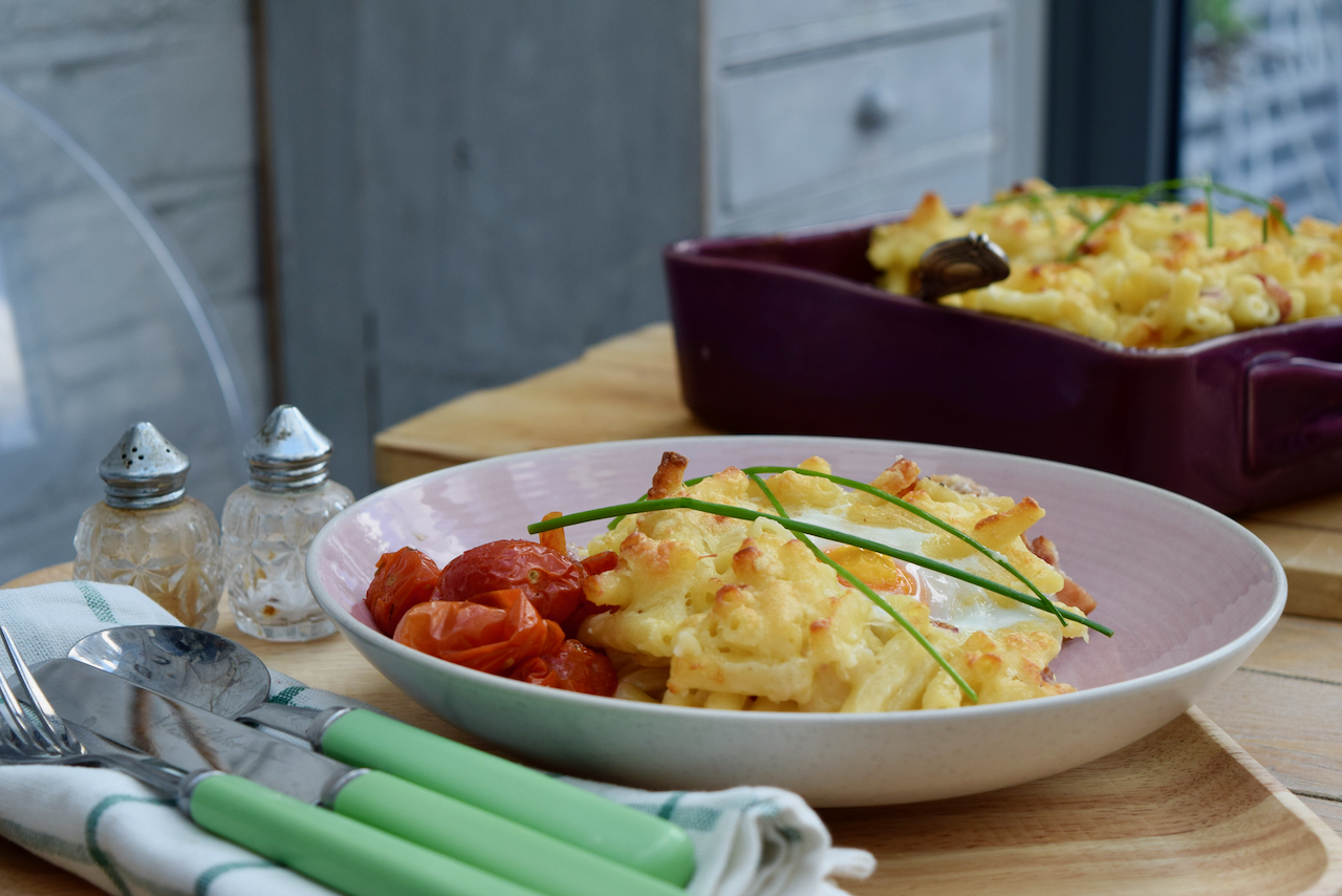 Full English Mac and Cheese recipe from Lucy Loves Food Blog