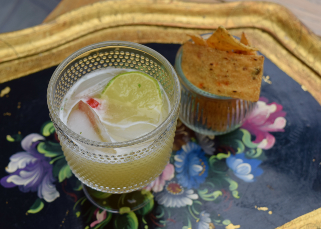 Picante Margarita recipe from Lucy Loves Food Blog