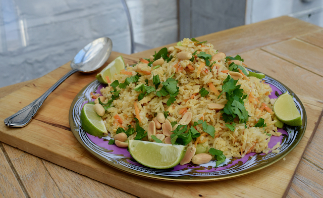 Thai Style Crab Fried Rice recipe from Lucy Loves Food blog