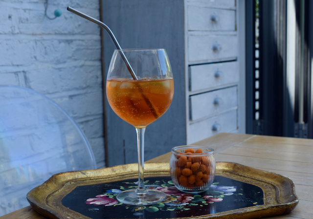 Aperol Sbagliato from Lucy Loves Food Blog
