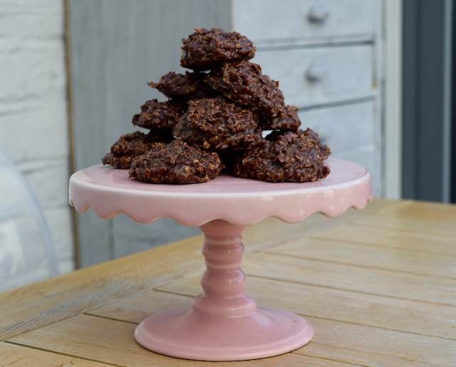 No Bake Chocolate Peanut Butter Cookies recipe Lucy Loves Food Blog