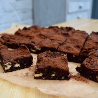 No Bake Healthy Brownies recipe from Lucy Loves Food Blog