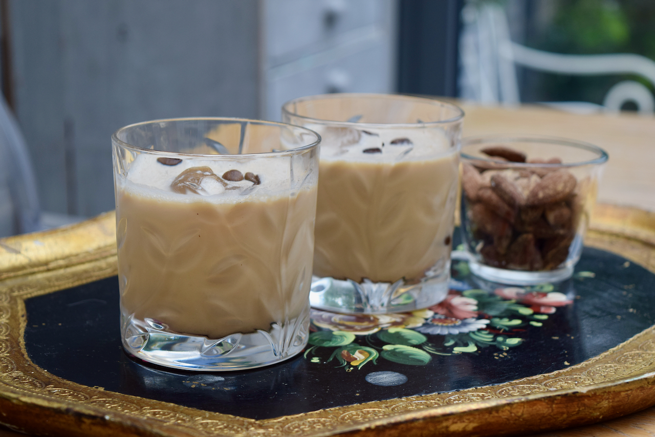 Sambuca Iced Coffee recipe from Lucy Loves Food Blog