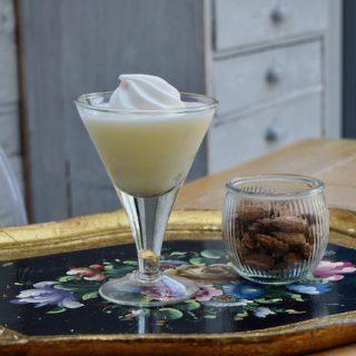 Lemon Meringue Martini recipe from Lucy Loves Food Blog