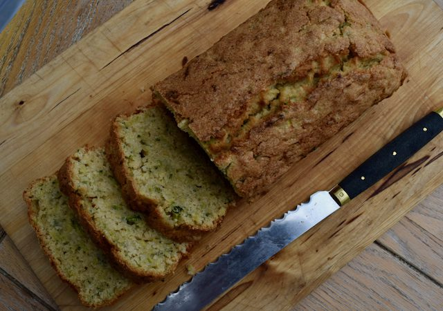 Courgette Loaf Cake recipe from Lucy Loves Food Blog