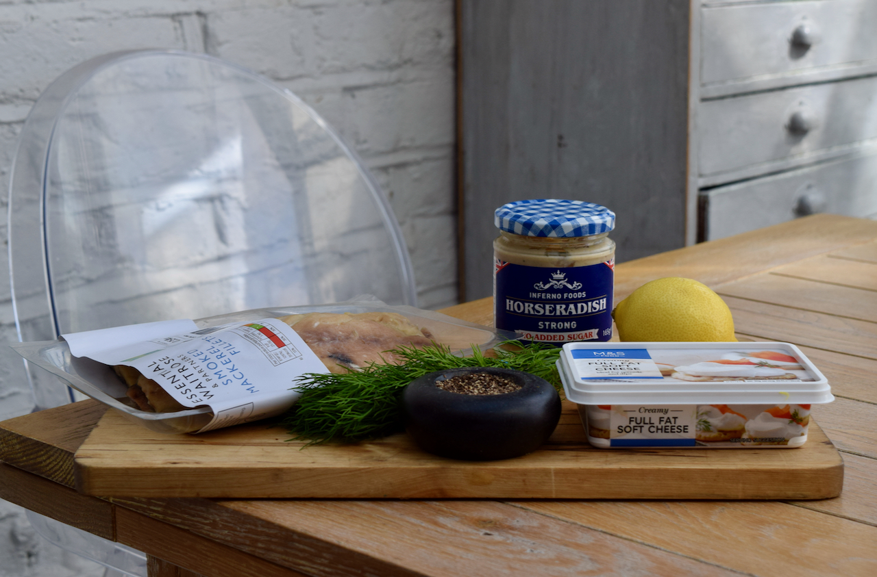 Smoked Mackerel Paté recipe from Lucy Loves Food Blog