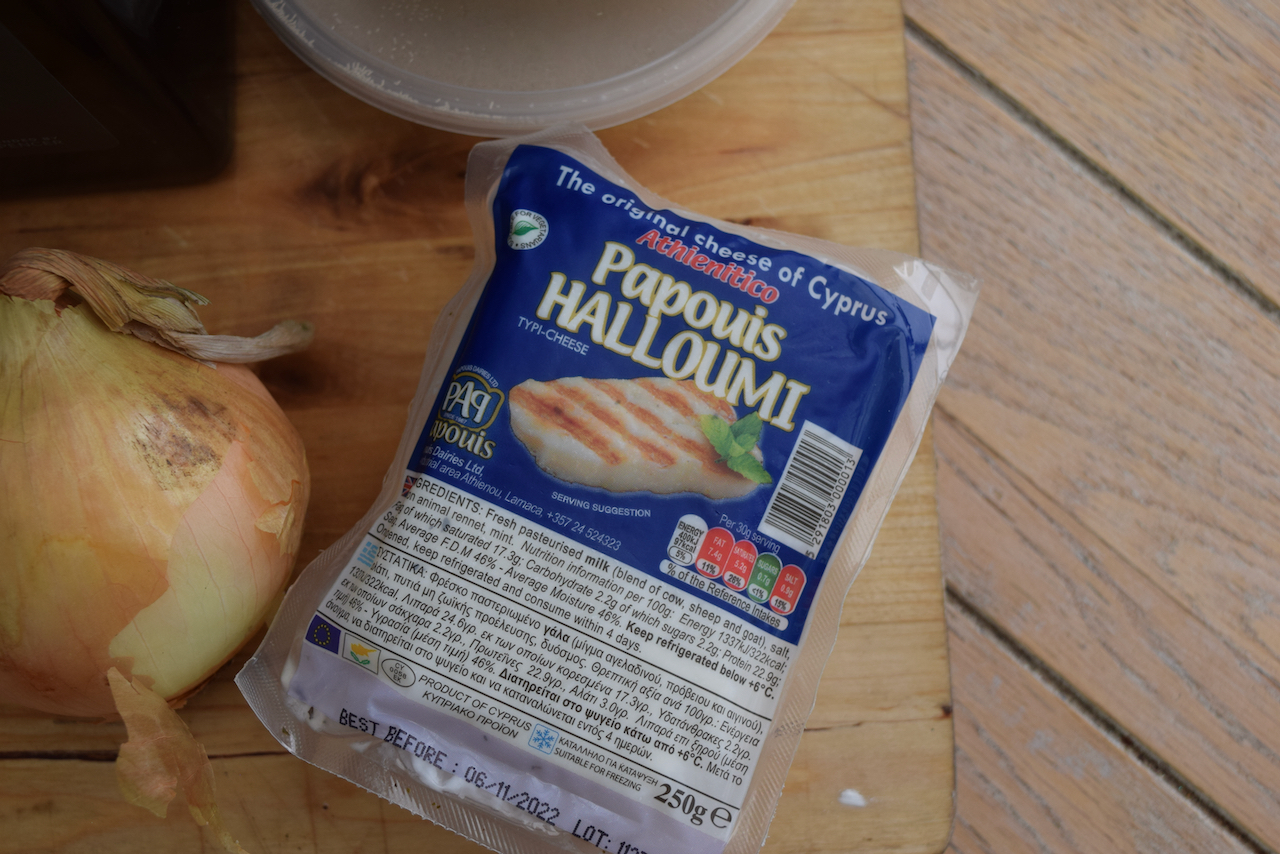Greek Halloumi Rolls recipe from Lucy Loves Food Blog