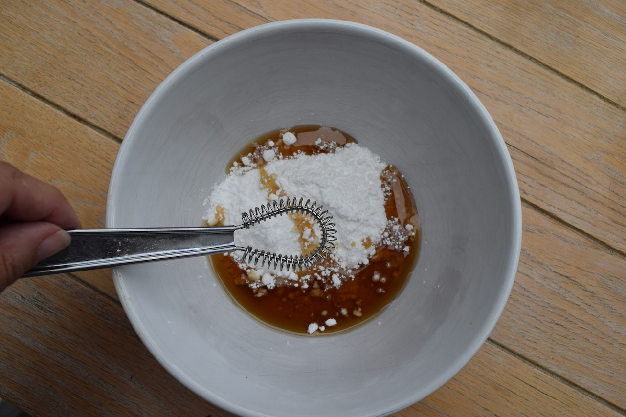 Elvis Blondies recipe from Lucy Loves Food Blog