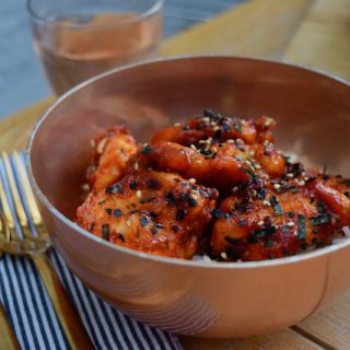 Korean Fried Chicken recipe from Lucy Loves Food Blog