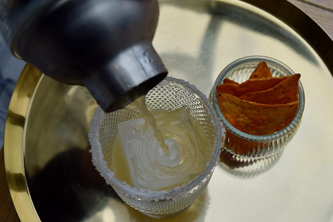 Italian Margarita recipe from Lucy Loves Food Blog