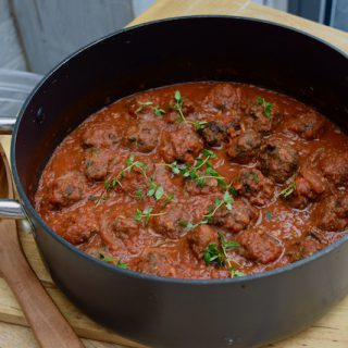 Black Pudding Meatballs recipe from Lucy Loves Food Blog