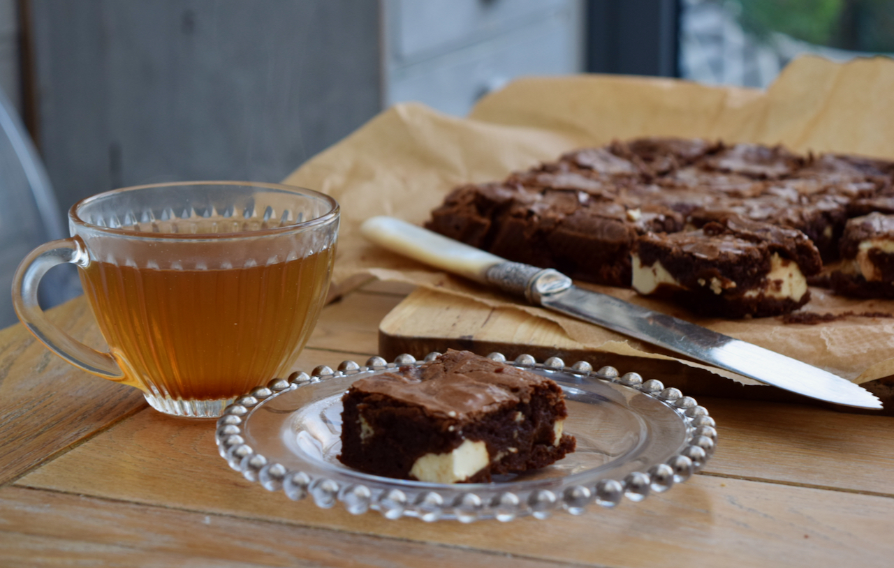 Chocolate Cream Cheese Brownies recipe from Lucy Loves Food Blog