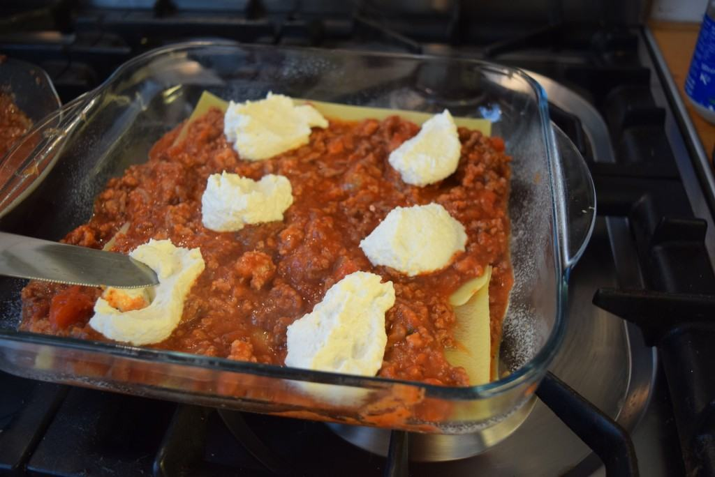 Sausage-beef-ricotta-lasagne-lucyloves-foodblog