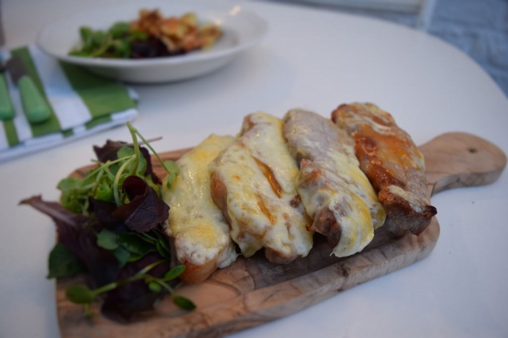 Pork-with-cheese-and-chutney-lucyloves-foodblog