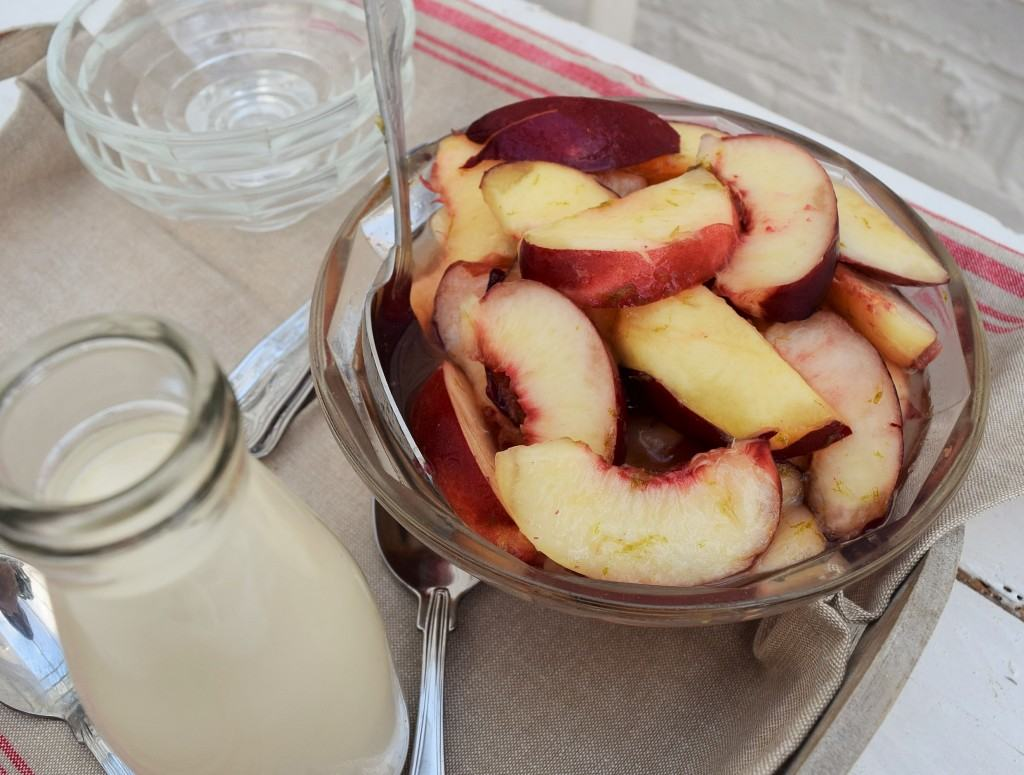 Nectarines-lime-honey-lucyloves-foodblog