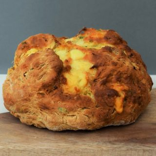 Irish-soda-bread-bacon-cheese-recipe-lucyloves-foodblog