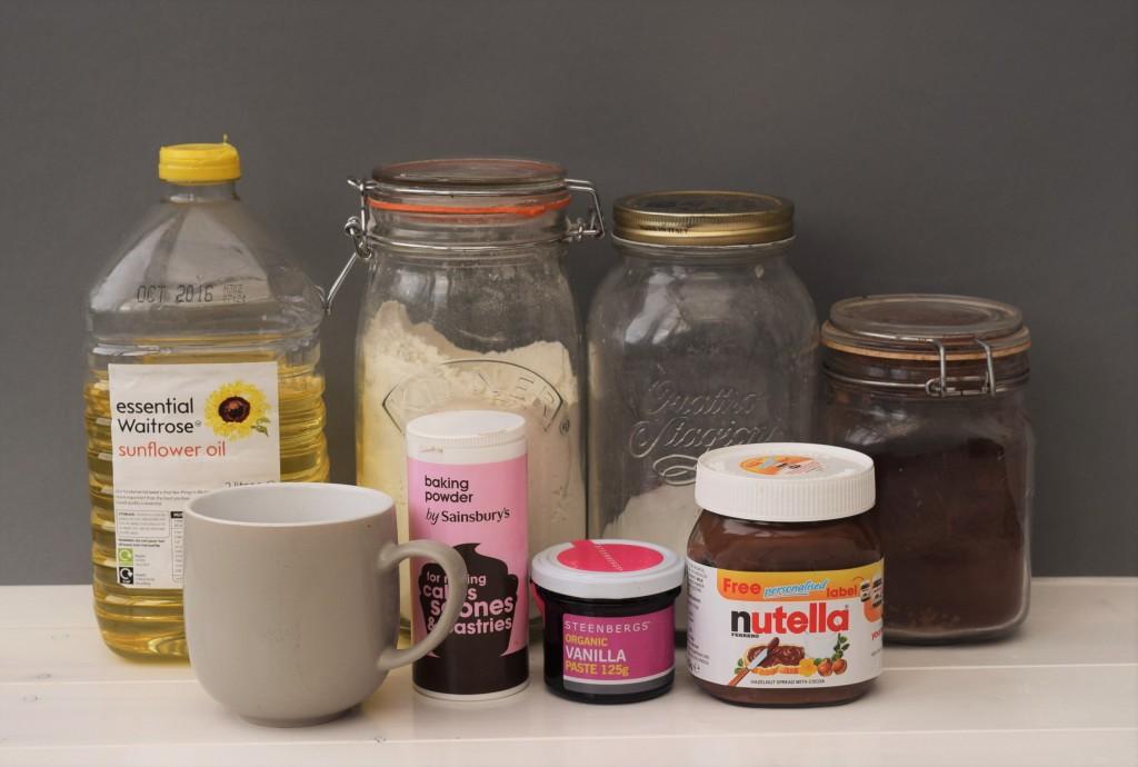 Fudgy-chocolate-mug-cake-recipe-lucyloves-foodblog