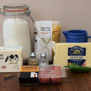 Chorizo-mac-and-cheese-recipe-lucyloves-foodblog