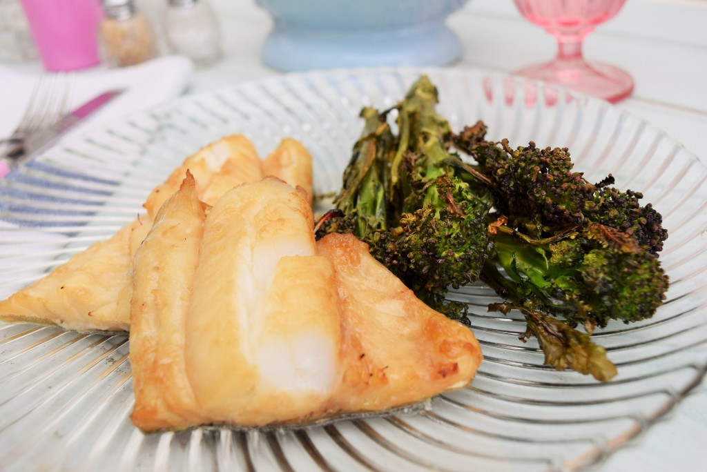 Baked-honey-cod--roasted-broccoli-lucyloves-foodblog