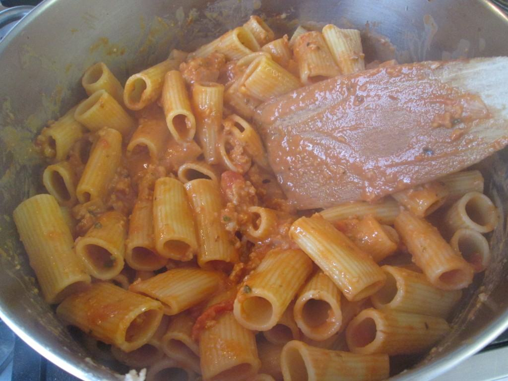 Baked-italian-sausage-pasta-lucyloves-foodblog